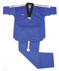 BMA - Dry-Fit Blue Taekwondo Uniform