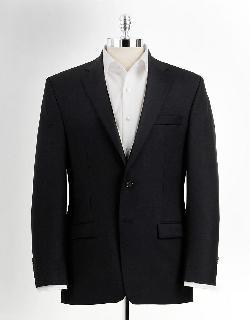 LAUREN RALPH LAUREN  - Classic Fit Two-Button Wool Suit Jacket