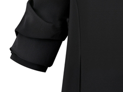Romwe - Open-Front Slim Blazer