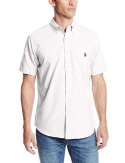 U.S. Polo Assn.  - Slim Fit Short Sleeve Button Down Shirt