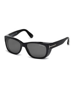 Tom Ford  - Carson Acetate Wraparound Sunglasses