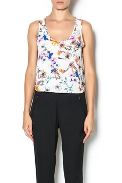 Eight Sixty - Floral Shell Top