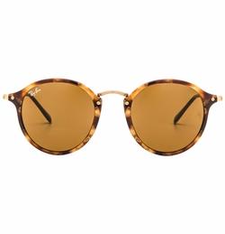 Ray-Ban - Round Fleck Sunglasses