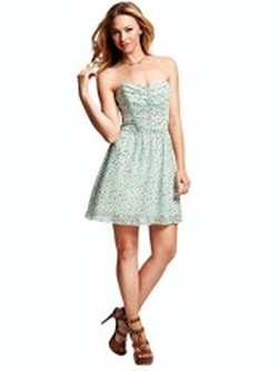 Guess - Ditsy Floral-Print Dress