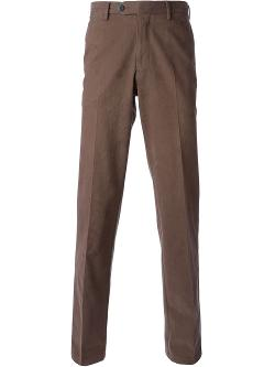Canali  - Flat Front Chino Pants