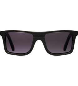 Shwood   - Dark Walnut Grey Polarized Govy Sunglasses