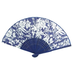 Uxcell - Floral Printed Folding Hand Fan