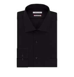 Van Heusen - Classic-Fit Solid Dress Shirt