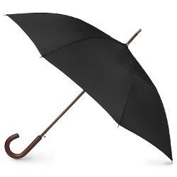 Totes - Blue Line Auto Wooden Stick Umbrella