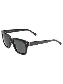 Linda Farrow  - Thick Square Rimmed Sunglasses