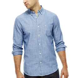 Dockers - Long-Sleeve Chambray Shirt