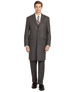 Brooks Brothers - Grey Chesterfield Coat