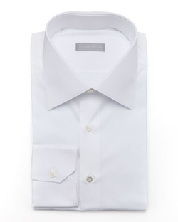Stefano Ricci - Basic Barrel-Cuff Dress Shirt