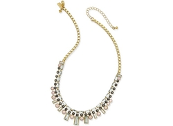 Kate Spade New York  - Gold-Tone Multi-Crystal Collar Necklace