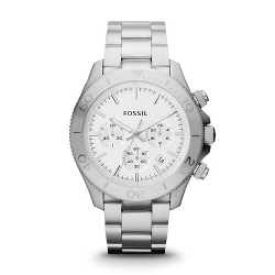 Fossil  - Retro Traveler Chronograph Stainless Steel Watch