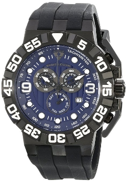 Swiss Legend - Swiss Quartz Black Watch