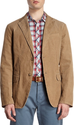Michael Kors - Two-Button Corduroy Jacket