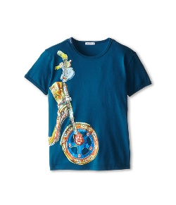 Dolce & Gabbana  - Motorcycle Wheel T-Shirt