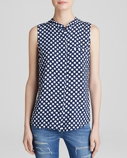 Splendid  - Polka Dot Blouse