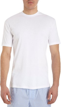 Zimmerli - Sea Island Crew Neck Tee Shirt