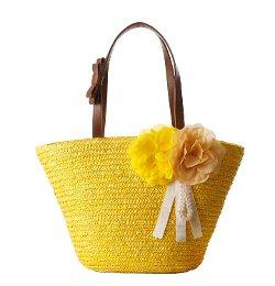Tonwhar - Woven Straw Tote Handbag