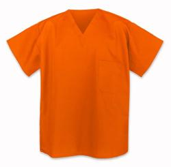 Broad Bay  - Orange Scrub Shirts