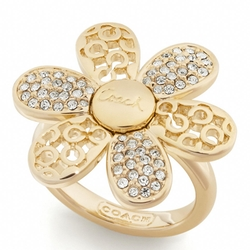 Coach - Miranda Flower Ring