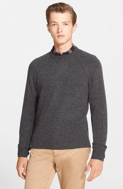 Jack Spade - Spencer Lambswool & Cotton Crewneck Sweater