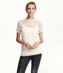 H & M - Lace Top