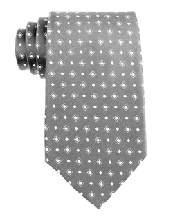 Westbury - Diamond Pattern Silk Tie