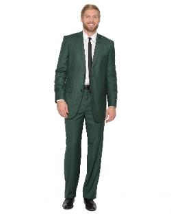 Ferrecci  - Mens Premium 2 Pc Hunter Green Suit