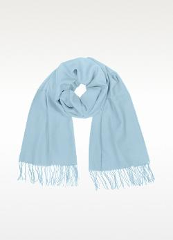 Coveri Collection  - Fringed Solid Wool And Cashmere Pashmina