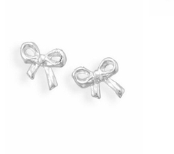 A Little Something - Bow Stud Earrings
