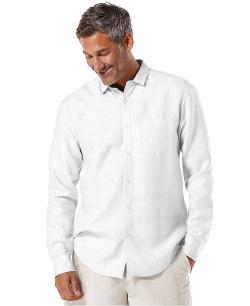 Cubavera  - Textured Linen Shirt
