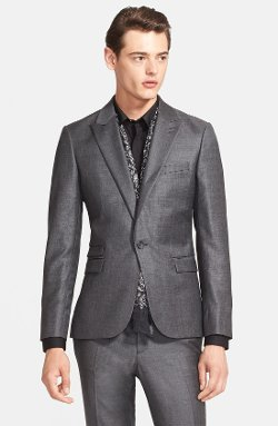 The Kooples - Trim Fit Wool Sport Coat