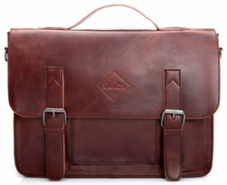 Zebella  - Leather Briefcase