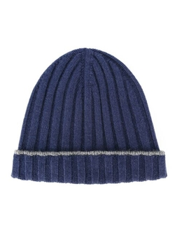 Brunello Cucinelli   - Ribbed Beanie