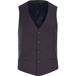 River Island - Button Front Vest