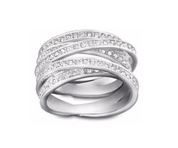 Swarovski - Spiral Ring