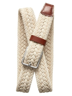 Banana Republic - Natural Braided Belt