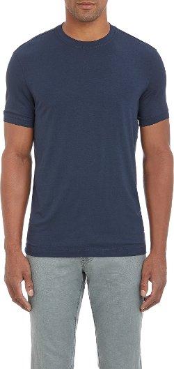 Armani Collezioni - Fine-Knit Jersey T-Shirt