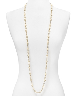Carolee - Faux-Pearl And Crystal Long Necklace