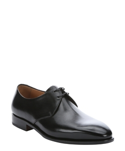 Ferragamo - Calfskin Nesio Lace-Up Oxford Shoes