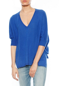 Songbird - Cashmere Oversized Vneck Sweater