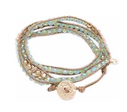 Lonna & Lilly - Glass Bead Wrap-Style Bracelet