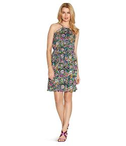 Shelli Segal - Laundry Boho Halter Dress