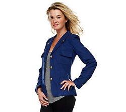 Rachel Zoe - Notch Collar Military Jacket