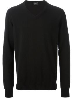 Jil Sander  - Classic V-Neck Sweater