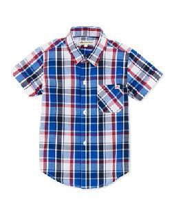 Appaman - Tilden Plaid Button-Down Shirt,