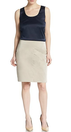 Pauw - Asymmetrical Pencil Skirt